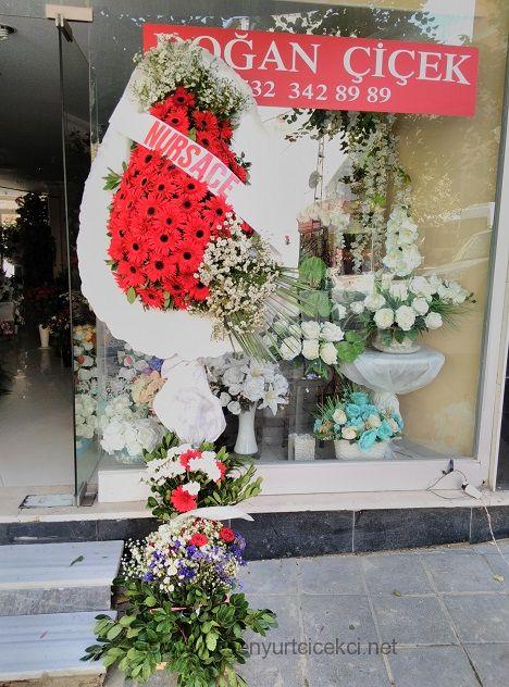 Kırmızı Çiçek Sepeti